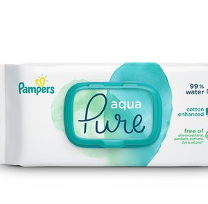 Pampers Pure Water Wipes