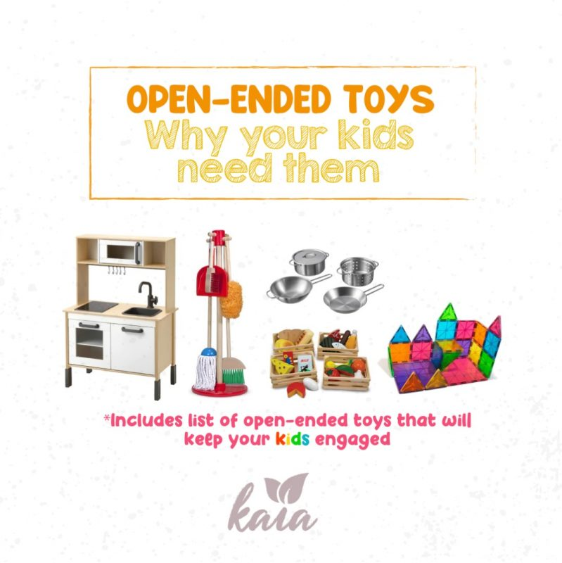 Open-Ended Toys and why your kids need them